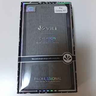 Galaxy A7 手帳型スマホケース