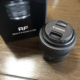 Canon - 美品 Canon RF35  F1.8 マクロ IS STM