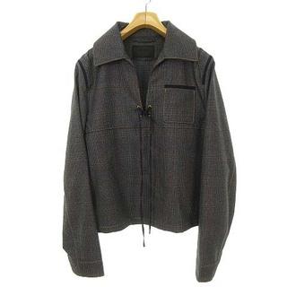 プラダ(PRADA)のプラダ PRADA 16AW コレクション ウール プルオーバー シャツ 50(シャツ)