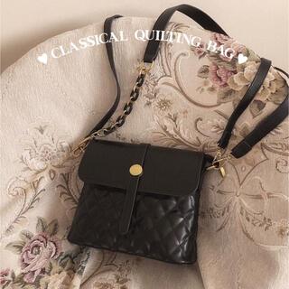 スナイデル(snidel)の新品*classical quilting bag(ショルダーバッグ)