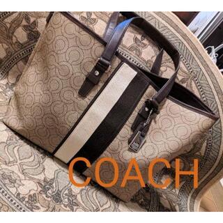 COACH - COACH コーチ 大型ボストンバッグ ベージュ 大容量