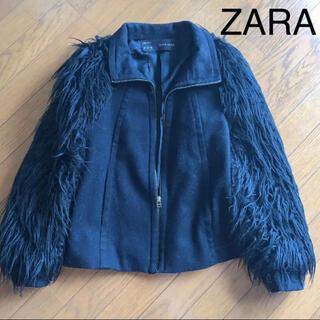 ザラ(ZARA)のZARA BASIC ファージャケット(毛皮/ファーコート)