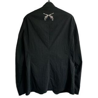 ロアー(roar)のroar 新宿KAWANO別注モザイクスワロフスキー装飾テーラードジャケット(テーラードジャケット)