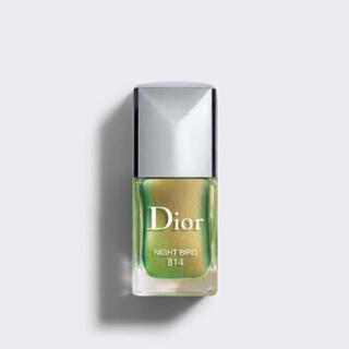 ディオール(Dior)の現在最安値 Dior ネイル 814 ナイトバード (マニキュア)