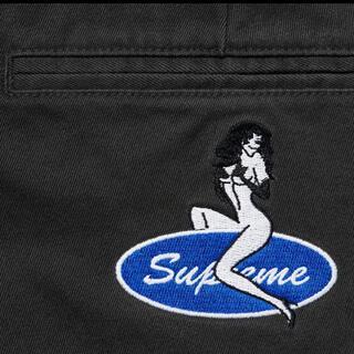 Supreme - Supreme Pin Up Chino Pant Black 30