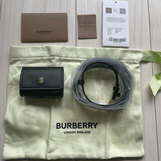 【未使用】BURBERRY バーバリー  airpods pro ケース(モバイルケース/カバー)
