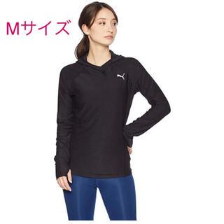 プーマ(PUMA)のpuma   長袖 フード付ロングTシャツ Mサイズ(Tシャツ(長袖/七分))