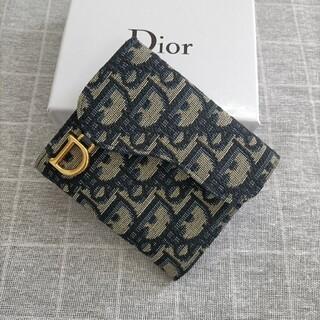 Christian Dior - 素敵★ディオール 三つ折り財布 名刺入れ