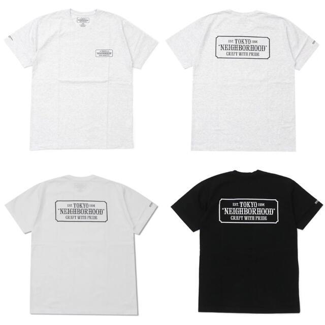 NEIGHBORHOOD(ネイバーフッド)のneighborhood Tシャツ 定番 人気 ロゴ ブラック Lサイズ メンズのトップス(Tシャツ/カットソー(半袖/袖なし))の商品写真