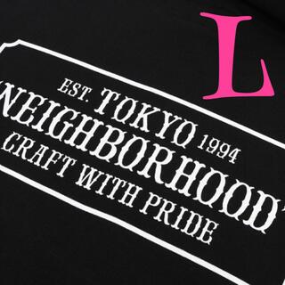 NEIGHBORHOOD - neighborhood Tシャツ 定番 人気 ロゴ ブラック Lサイズ