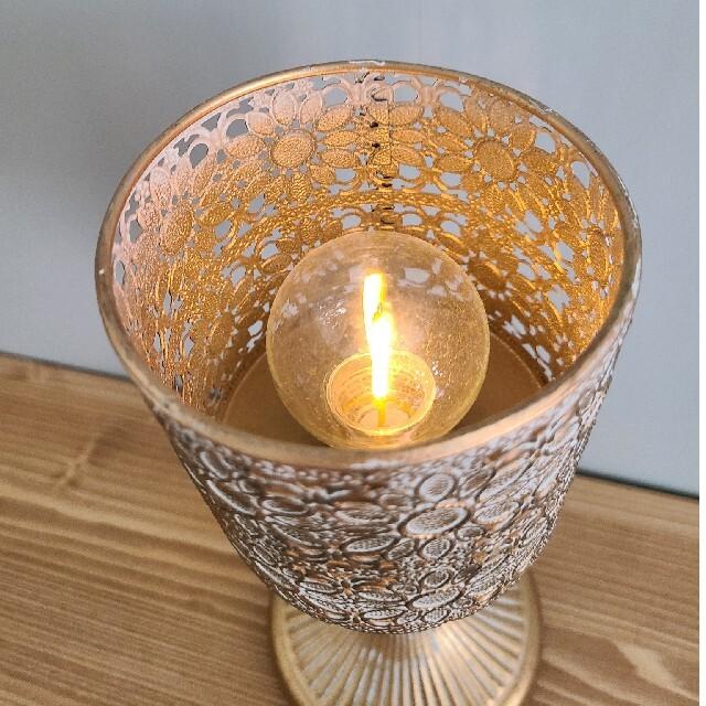 テーブルランプ Salut! サリュ インテリア/住まい/日用品のライト/照明/LED(テーブルスタンド)の商品写真