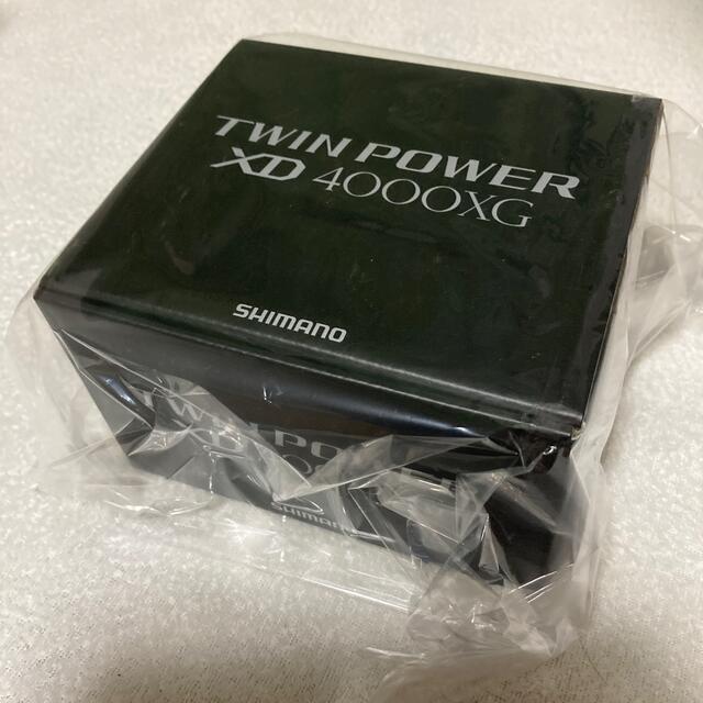 SHIMANO(シマノ)の【未開封品】21 ツインパワーXD 4000XG スポーツ/アウトドアのフィッシング(リール)の商品写真
