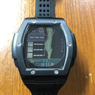 ユピテル(Yupiteru)のショットナビ ゴルフ クレスト 腕時計型GPSナビShot Navi Crest(その他)