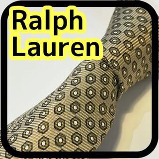 ポロラルフローレン(POLO RALPH LAUREN)のブランド Polo by Ralph Lauren ネクタイ ゴールド 小紋柄(ネクタイ)