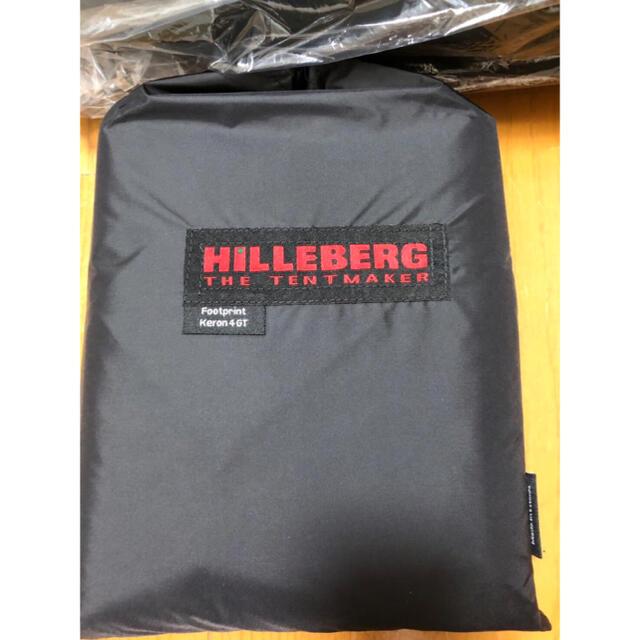 HILLEBERG(ヒルバーグ)の新品未開封 ヒルバーグ ケロン4gt   グリーン フットプリント 正規品 スポーツ/アウトドアのアウトドア(テント/タープ)の商品写真