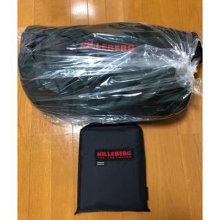 ヒルバーグ(HILLEBERG)の新品未開封 ヒルバーグ ケロン4gt   グリーン フットプリント 正規品(テント/タープ)
