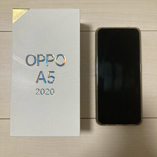OPPO - 【美品・完品】oppo A5 2020