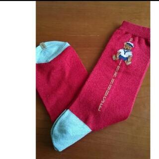 ピンクハウス(PINK HOUSE)の新品ピンクハウス・熊の靴下(ソックス)