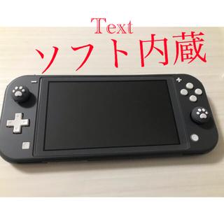 Nintendo Switch - Nintendo Switch lite 本体と充電器