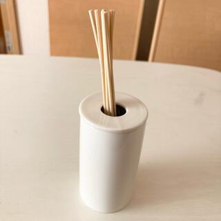 MUJI (無印良品) - 【値下げ】無印 インテリアフレグランス アロマスティック 陶器ホルダー 無印良品