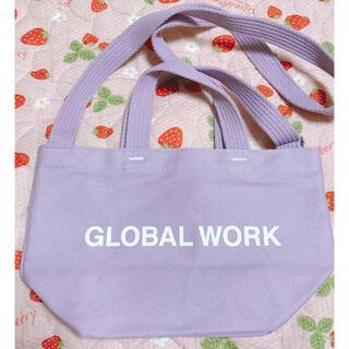グローバルワーク(GLOBAL WORK)のグローバルワーク ミニショルダートートバッグ(トートバッグ)