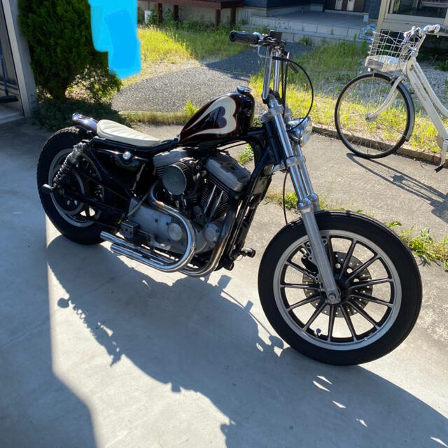 Harley Davidson(ハーレーダビッドソン)のHARLEY-DAVIDSON XL1200S  自動車/バイクのバイク(車体)の商品写真