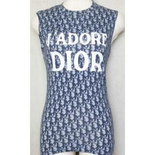 ディオール(Dior)の美品レア☆*°正規品dior.トロッター柄ノースリーブ。(Tシャツ(半袖/袖なし))