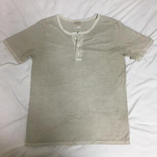 Ron Herman - ✨美品✨エアロポステール ヘンリーネックTシャツ ベージュ L