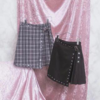 バブルス(Bubbles)のBUBBLES フラットプリーツスカート ミニスカート バブルス(ミニスカート)