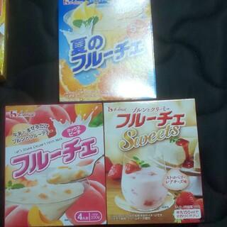 ハウスショクヒン(ハウス食品)のフルーチェ3セット(2)(菓子/デザート)