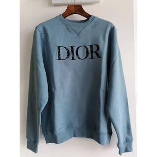 ディオール(Dior)の【DIOR】21/22AW新作 ロゴ入り ウェットシャツ(スウェット)
