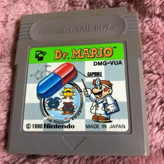 ゲームボーイ(ゲームボーイ)のGBゲームソフト ドクターマリオ(携帯用ゲームソフト)