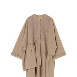 ALEXIA STAM - ALEXIA STAM  Irregular Hem Shirt Dress