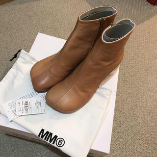 エムエムシックス(MM6)のmm6 ショートブーツ 39(25.5) 新品未使用(ブーツ)
