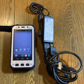 パナソニック(Panasonic)のPanasonic TOUGH PAD FZ-X1 充電器付き 美品(スマートフォン本体)