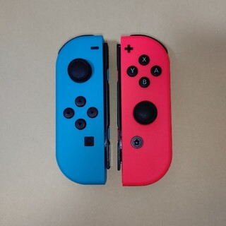 Nintendo Switch - 純正 Joy-Con  L R ネオンブルー ネオンレッド ジョイコンのみ