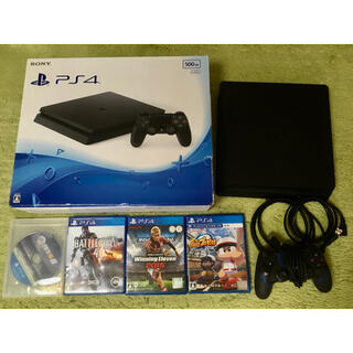 PlayStation4 - PS4 CUH-2000A 500GB 本体 おまけソフト4枚付き