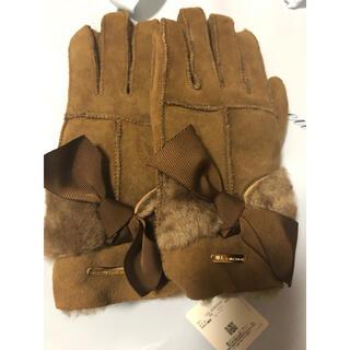 ジルバイジルスチュアート(JILL by JILLSTUART)のジルスチュアート ムートングローブ 手袋(手袋)