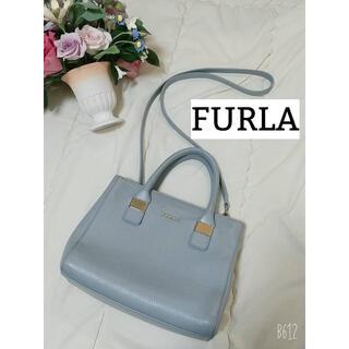 Furla - FURLA フルラ 2way ショルダーバッグ ハンドバッグ ブルー