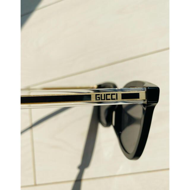 Gucci(グッチ)のGUCCI 新品未使用 希少 手越祐也 サングラス 同型同色 メンズのファッション小物(サングラス/メガネ)の商品写真