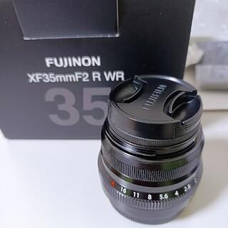 富士フイルム - 美品レンズ XF35mm F2 R WR レンズフード LH-XF35-2セット