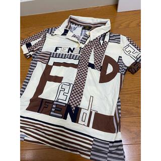 フェンディ(FENDI)の正規品 フェンディ ヴィンテージ ロゴ 柄 シャツ 40 トップス ブラウス(シャツ/ブラウス(半袖/袖なし))