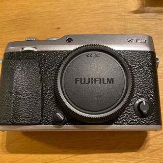 富士フイルム - FUJI FILM X−E3 SILVER 超美品