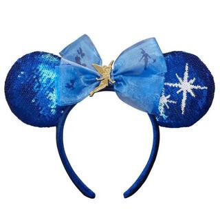 Disney - 海外ディズニー限定♡カチューシャ ピーターパン ブルー 妖精