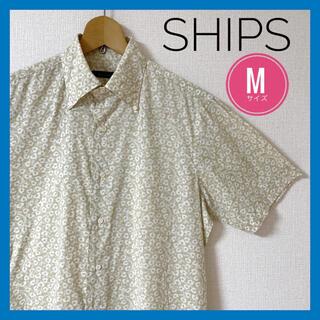シップス(SHIPS)のSHIPS メンズ シャツ 半袖 Mサイズ(Tシャツ/カットソー(半袖/袖なし))
