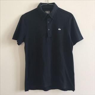 LACOSTE - LACOSTE ラコステ ポロシャツ ボタンダウン ネイビー 4サイズ Lサイズ