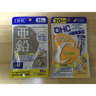 DHC - DHC 亜鉛+ビタミンC 20日分