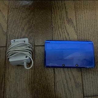 ニンテンドー3DS(ニンテンドー3DS)の3ds本体と充電器(家庭用ゲーム機本体)