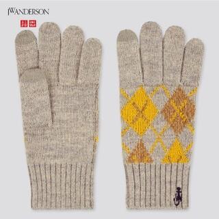 ユニクロ(UNIQLO)の[新品]UNIQLO×JWanderson ヒートテックニットグローブ(手袋)