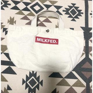 ミルクフェド(MILKFED.)のMILKFED.ミニトートバッグ(トートバッグ)